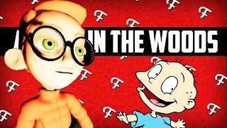 A Walk In The Woods: Angry Nerd Teddy, Rugrats Parody, Game Fail, Rage Bloopers (Comedy Gaming)