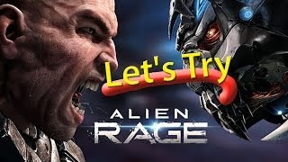 Let's Try : Alien Rage pc gameplay (1080p)(Single & Multi Monitors) - Radeon HD 7970