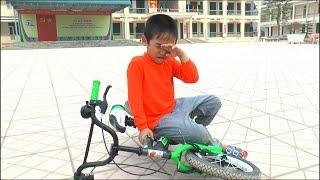 Dương tập đi xe đạp, Kênh Em Bé ♥