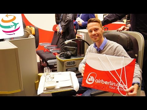 airberlin neue Business Class auf der ITB Berlin | GlobalTraveler.TV