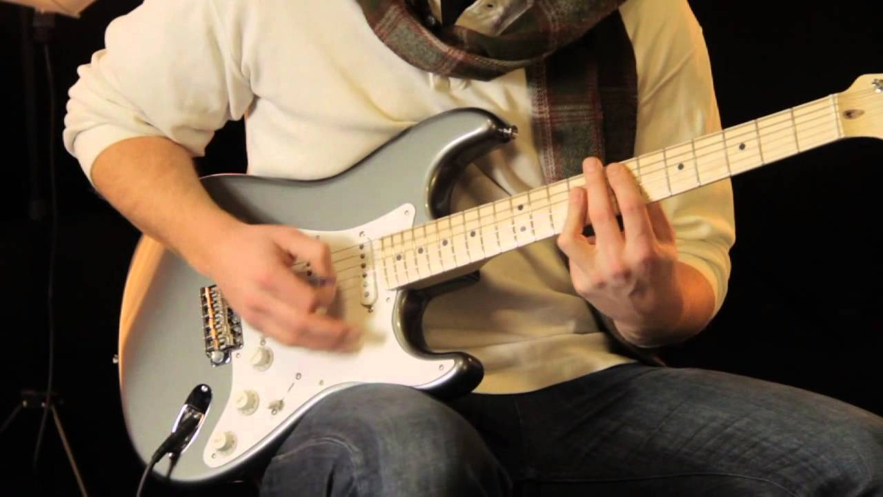 fender eric clapton stratocaster tone review and demo [ 1280 x 720 Pixel ]