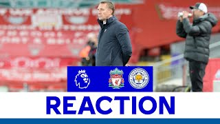 'Need To Be More Aggressive' - Brendan Rodgers | Liverpool 3 Leicester City 0