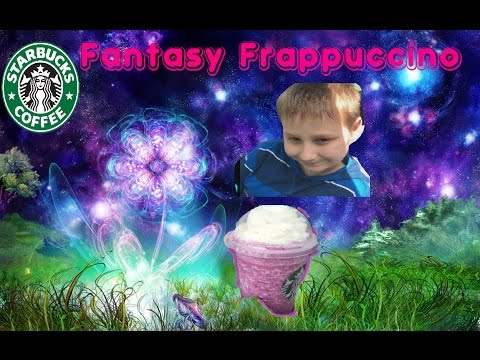 New Starbucks Fantasy Frappuccino Creation W Secret Menu Drinks Pink Purple Drink Cottoncandy