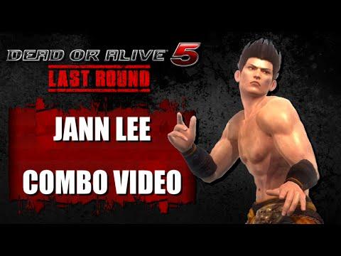 DOA5 LAST ROUND (Ver. 1.04) Jann Lee - COMBO VIDEO