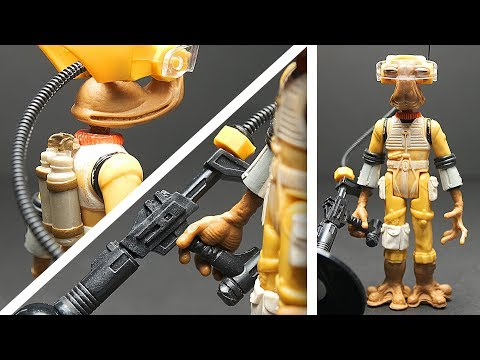 I made a BOOTLEG figure. (More like 'kitbashed'.) | How To Make A Custom Action Figures