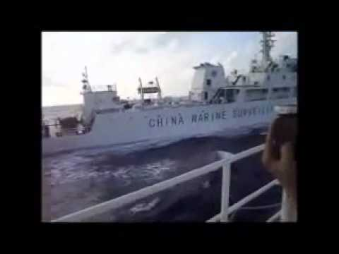 Vietnam-China boat crash video posted P1