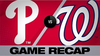 Turner's slam helps clinch postseason berth | Phillies-Nationals Game Highlights 9/24/19