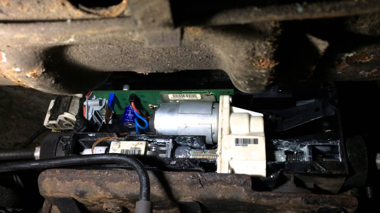 Discovery 3 4 Range Rover Sport EPB Electronic Parking Brake fault