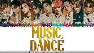 NCT 127 - 'MUSIC, DANCE' Lyrics [Color Coded_Han_Rom_Eng]