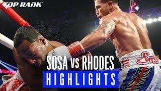 #SosaRhodes Fight Highlights | Jason Sosa vs. Lydell Rhodes