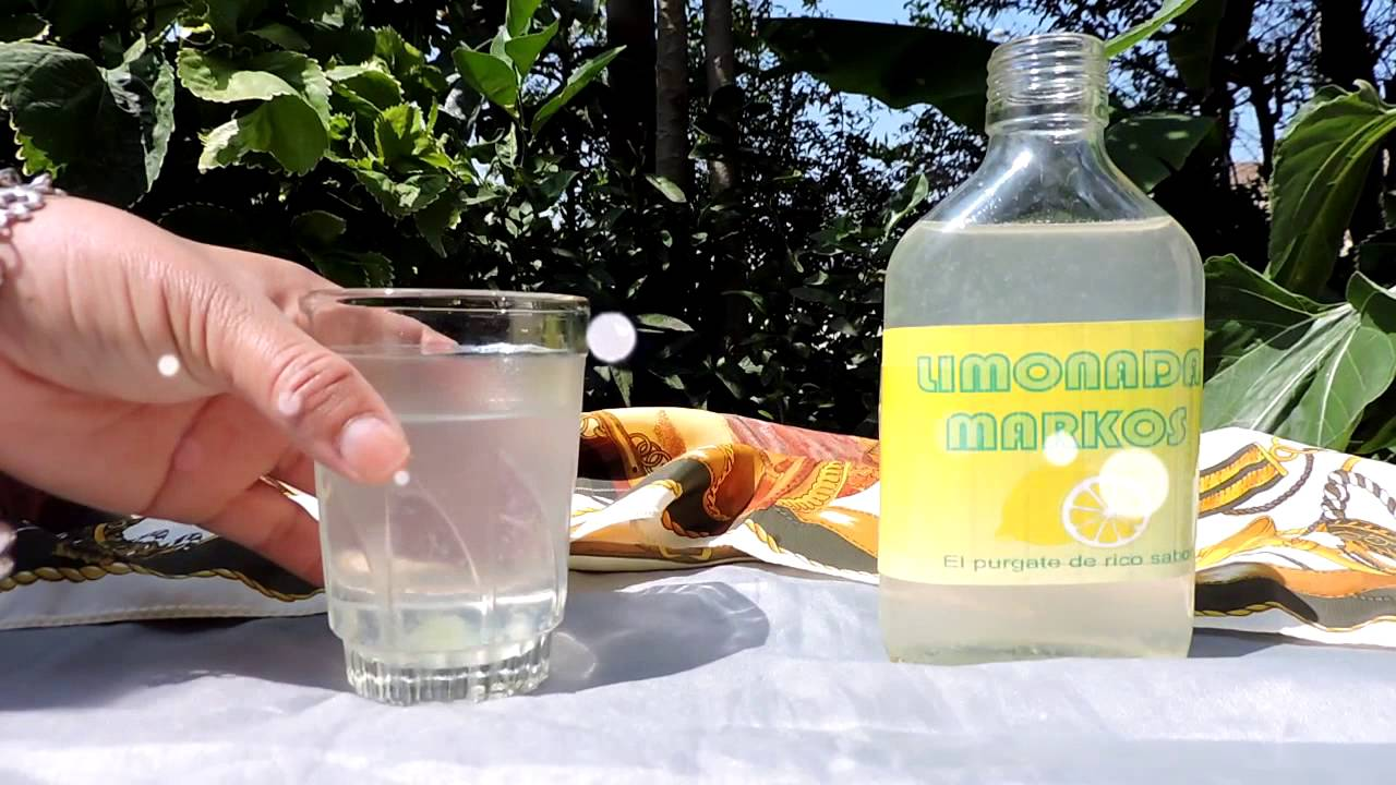 se puede tomar limonada markos en la noche