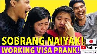 JAPAN WORKING VISA PRANK! Napaiyak Kami Sa Sarili Naming Vlog! #9