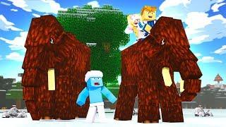 COFNĘLIŚMY SIĘ W CZASIE! | Minecraft EPOKA LODOWCOWA #1