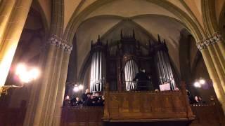 1.video.Jāzepam Vītolam - 150. Kamerkoris Muklājs vecajā Svētās Ģertrūdes baznīcā.09.1.2013.