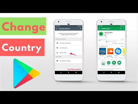 How To Change Country In Google Play Store (2019) Without Root?