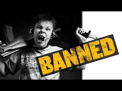 BANNED from Violent Video Games - Game News