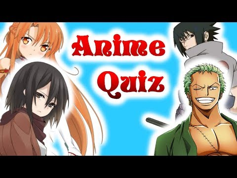 Anime Character Quiz [Detail Quiz][Easy]