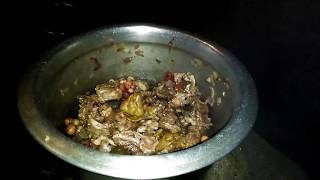 Monitor lizard Cooking in my village- Udumbu curry samaiyal-Food Fun Village