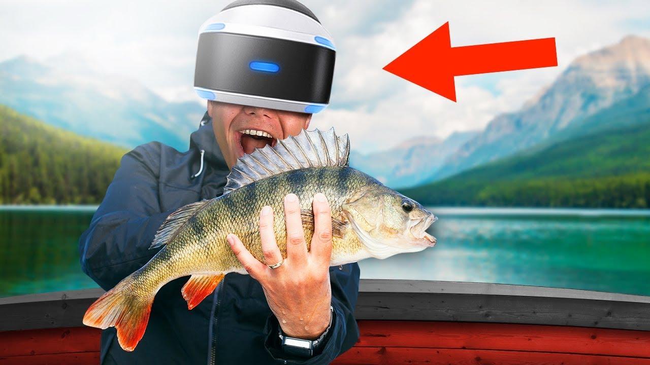 Fishing in virtual reality youtube for Virtual reality fishing