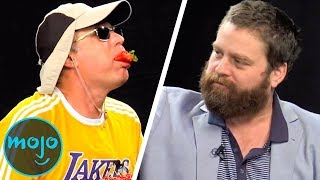 Top 10 Funniest Between Two Ferns Episodes Video