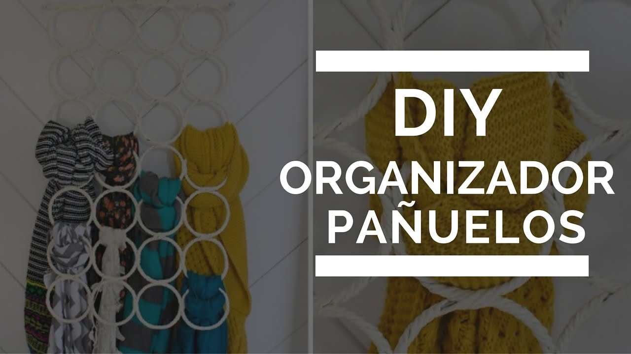 Organizador pa uelos bufandas youtube - Organizador de carteras ...