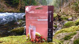 Banana Berry Smoothie | Alpine Aire | Taste Test