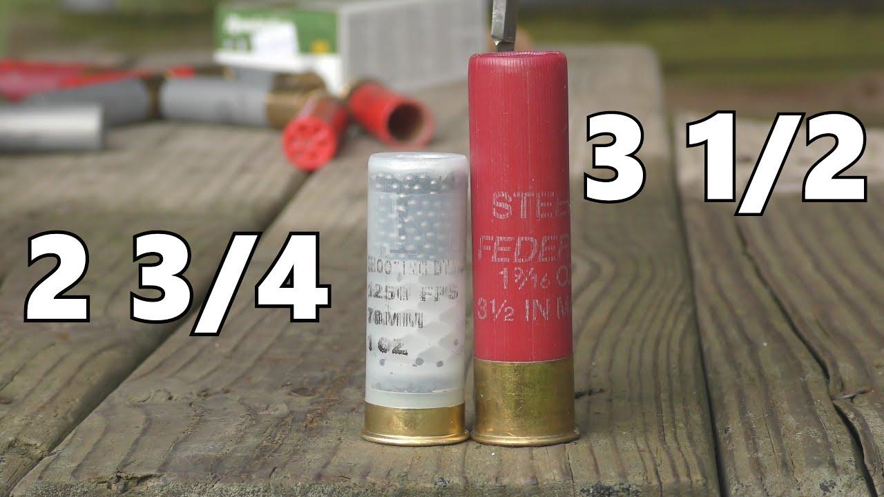 3.5 Inch 12 Gauge Shotgun Shell