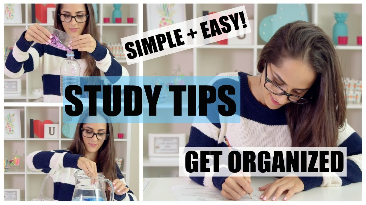 how to make yourself get organized