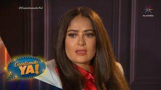 ¡Salma Hayek revela el apoyo que recibió de Luis Miguel! | Cuéntamelo YA!