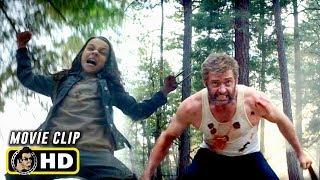 LOGAN (2017) Wolverine and Laura Team Up [HD] Hugh Jackman