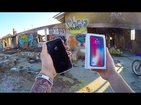 FOUND BRAND NEW iPHONE X!