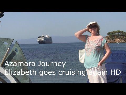 Azamara Journey - Elizabeth goes cruising again HD