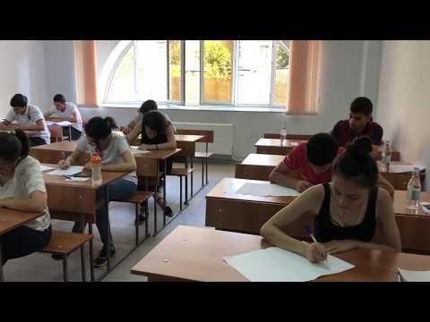 В Филиале МГУ в Ереване вступительный экзамен по русскому языку