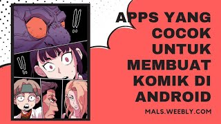 Aplikasi Untuk Membuat Komik Webtoon di Android