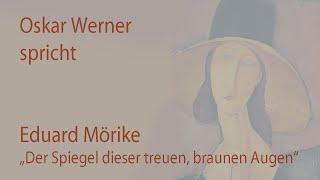 """Eduard Mörike – """"Der Spiegel dieser treuen, braunen Augen"""" (1838)"""