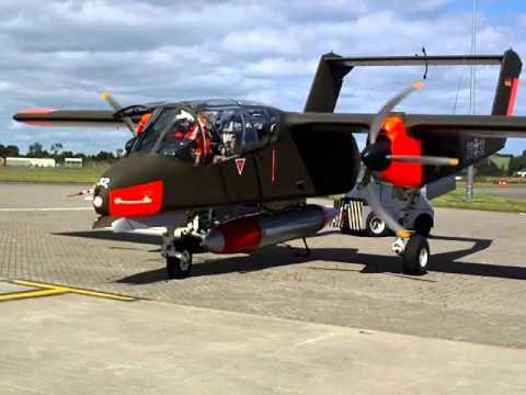 OV-10B Bronco Start Up