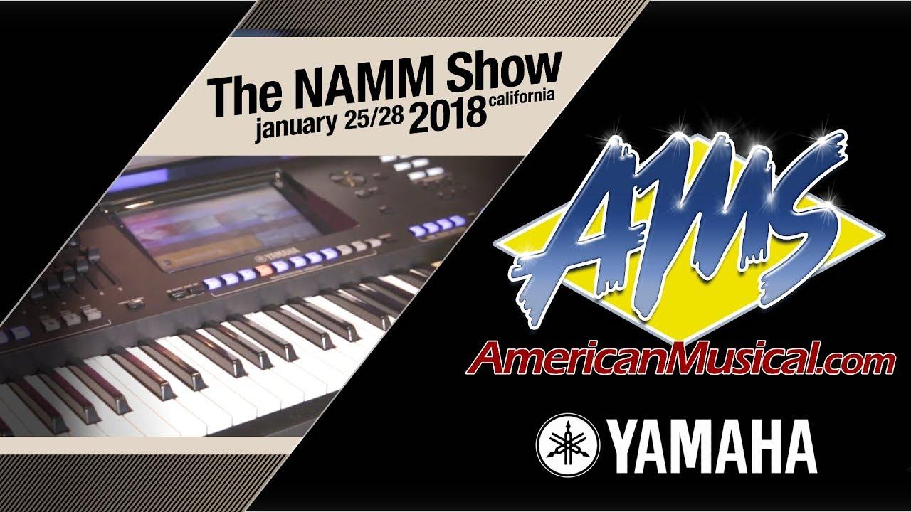 yamaha genos workstation keyboard ams at namm 2018 youtube. Black Bedroom Furniture Sets. Home Design Ideas