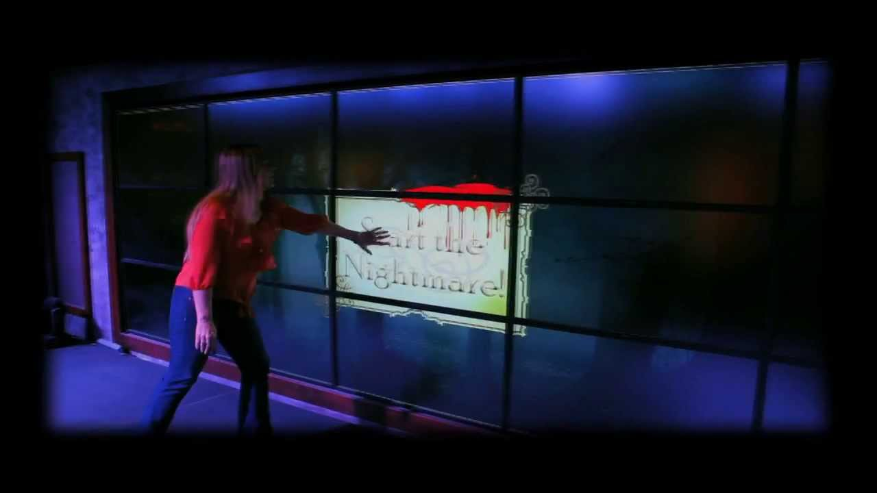 haunted house interactive digital signage video wall game youtube haunted house interactive digital signage video wall game