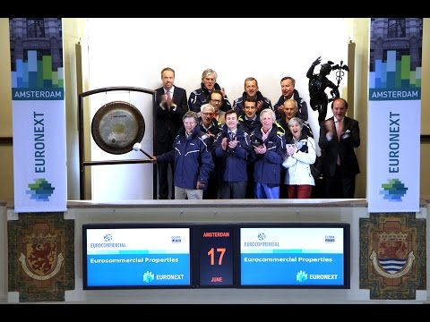 Eurocommercial Properties celebrates 25th anniversary at Euronext Amsterdam