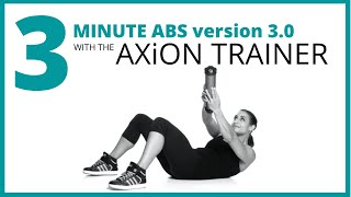3 Minute Core and Abs Workout With AX-CORE WORKOUTS