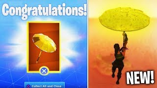 How do I get the FREE GOLD PARAPLUIE on FORTNITE? (Golden glider top 1 )
