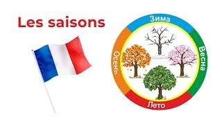 Уроки французского языка. Учим времена года. Les saisons