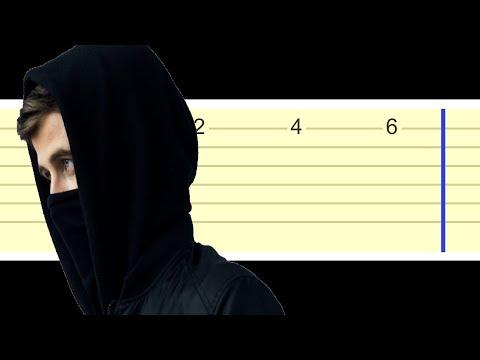alan-walker---faded-(easy-guitar-tabs-tutorial)