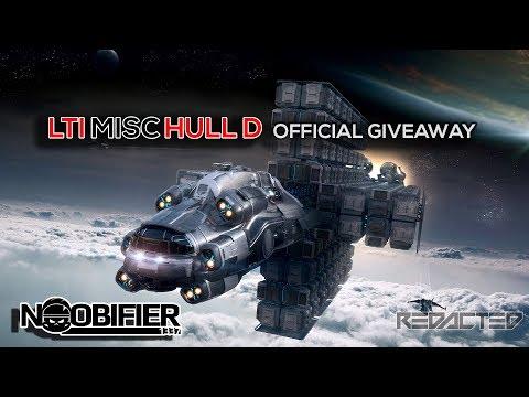 Official LTI HULL D Giveaway - Star Citizen - #nobullshit