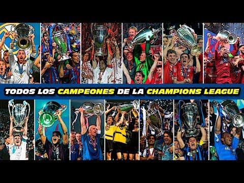 All CHAMPIONS LEAGUE WINNERS  (1993-2019) (Spanish Audio English Subtitles)