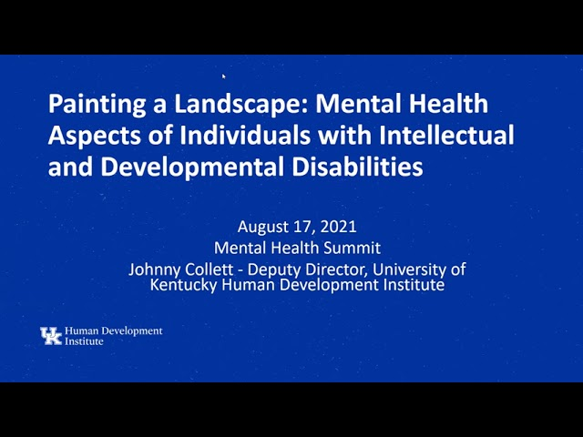 Mental Health Summit 2021: Session 1 with Johnny Collett