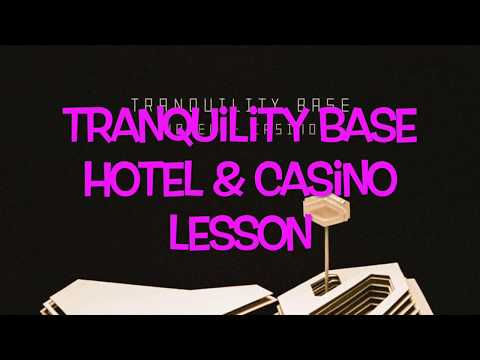 Arctic Monkeys Tranquility Base Hotel & Casino - Guitar Lesson