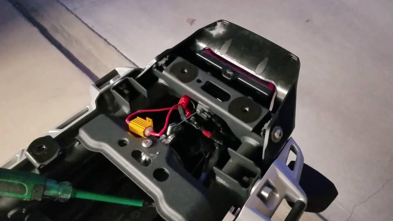 medium resolution of led turn indicator install in triumph tiger explorer