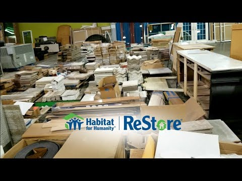 Habitat for Humanity ReStore - Let's visit!