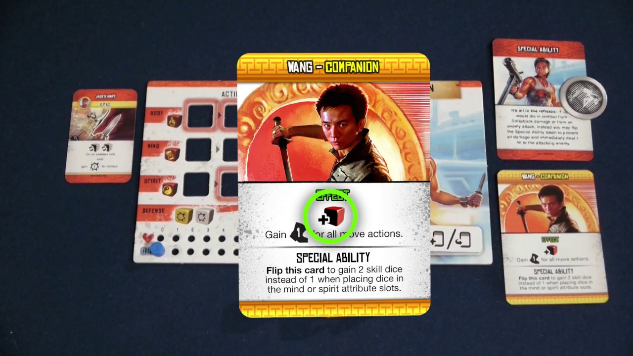 """08 - Big Trouble in Little China: the Game - """"How to Play"""" Player Scaling"""